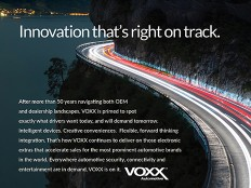 VOXX Automotive Ad